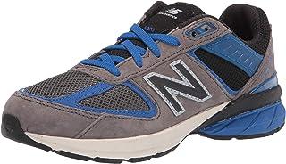 حذاء رياضي برباط للأطفال من New Balance مصنوع في الولايات المتحدة 990 V5