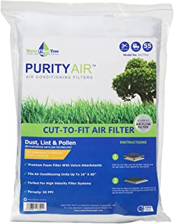 Purity Air Cut to Fit non woven white air filter 16