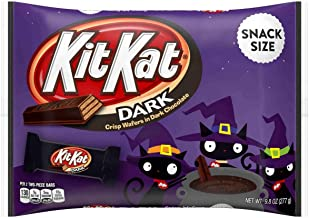 Halloween Kit Kat Dark Chocolate Snack Size Candy Bars - 9.8 oz Bag (2)