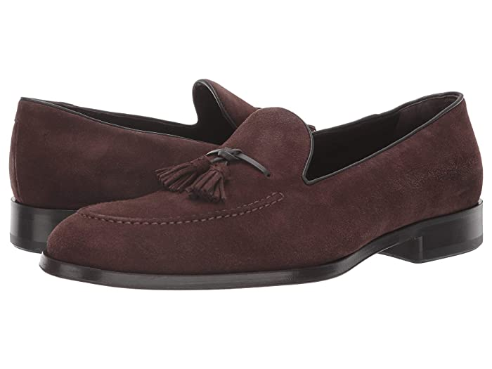 Allen Edmonds  Perugia (Dark Brown Suede) Mens  Shoes