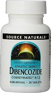 Source Naturals - Magnetocardiograma de Dibencozide Coenzymated B12 10000 Sublingual. - 30tabletas
