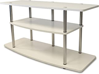Convenience Concepts Designs2Go 3-Tier Wide TV Stand, White
