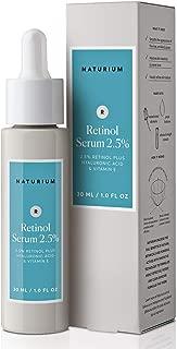 Naturium Retinol Serum 2.5% with 2.5% Retinol Plus Hyaluronic Acid & Vitamin E