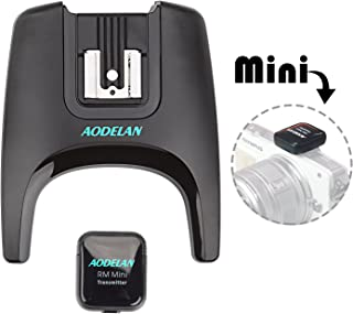 Aodelan mini Flash Trigger kablosuz radyo Flash Speedlite Studio Trigger ve vericisi seti