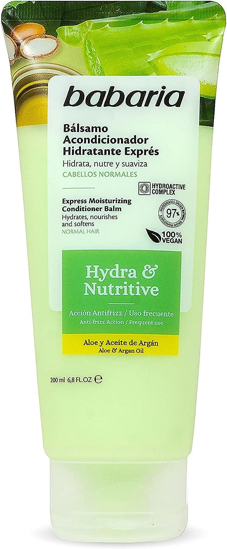Babaria, Acondicionador Hidratante Exprés. Hydra&Nutritive