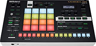 Roland VERSELAB MV-1 ZEN-Core Professional Song Production Studio for Songwriters and Singers. 4x4 pads and TR-REC Step Sequencer for drums, basslines, and melodic parts.