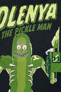 Rick and Morty Pickle Rick UK Single Duvet/Doona Cover Set