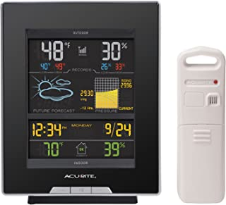 AcuRite 02008A1 Color Weather Station with Forecast, Temperature, Humidity, Barometric..