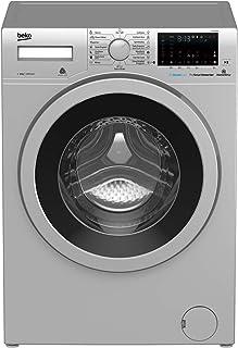 Beko Washıng Machıne 1400 RPM 15 Programs, Silver, 8 Kg, WTV8736XS