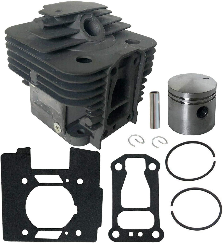 Cilindro de 35 mm Pistón 10 mm Pin se ajusta a STIHL FS250 FS200 FS120 Bush Cutter Trimmer
