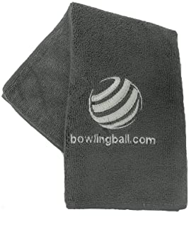 bowlingball.com Embroidered Microfiber Bowling Towel