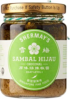 Shermay's Singapore Fine Food Sambal Hijau, 240ml