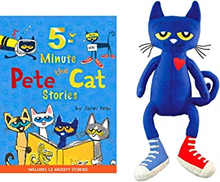 Pete the Cat Book & Plush Toy Gift Bundle #1