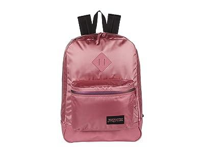 JanSport Super FX (Blackberry Mousse Premium Poly) Backpack Bags