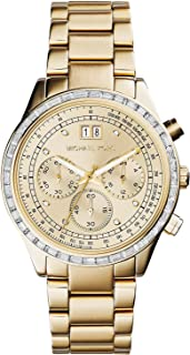 Michael Kors Brinkley Watch for Women - Analog Stainless Steel Band