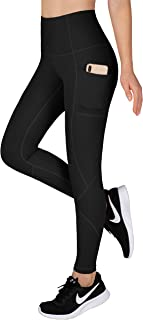 LifeSky Yoga Pants for Women, High Waisted Tummy Control Workout Leggings with Pockets, 4 Way Stretching