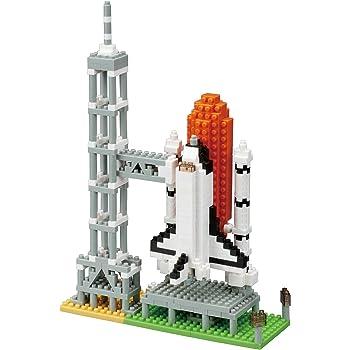 ナノブロック スペースシャトル発射台 NBH_131