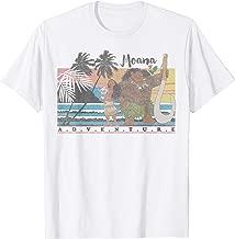 Disney Moana & Maui Adventure Faded Portrait T-Shirt
