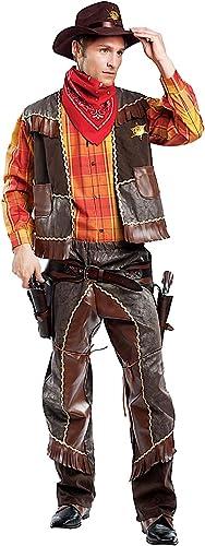 Carnevale Venizano CAV4476-XL - Erwachsenenkostüm Cowboy - Größe  XL