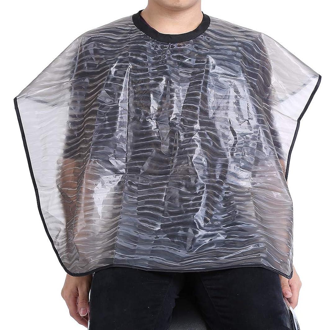 Roteck 2サイズ防水再利用可能なサロン理髪布-耐久性のあるヘアスタイリストガウン理髪ケープ(01)