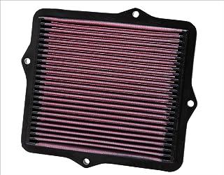 K&N 33 2047 Motorluftfilter: Hochleistung, Prämie, Abwaschbar, Ersatzfilter, Erhöhte Leistung, 1991 2001 IV, V, VI, CX, DX Hatchback, EX, LX, SI, VX, del Sol, CRX III, Civic Coupe