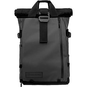 PRVKE Travel and DSLR Camera Backpack with Laptop/Tablet Sleeve - Rugged Photography Bag (21 L, Black)