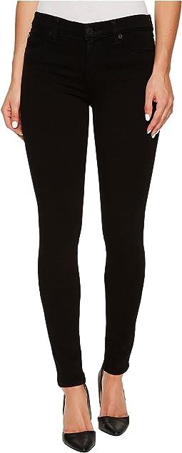 Hudson - Nico Mid-Rise Super Skinny Supermodel in Black