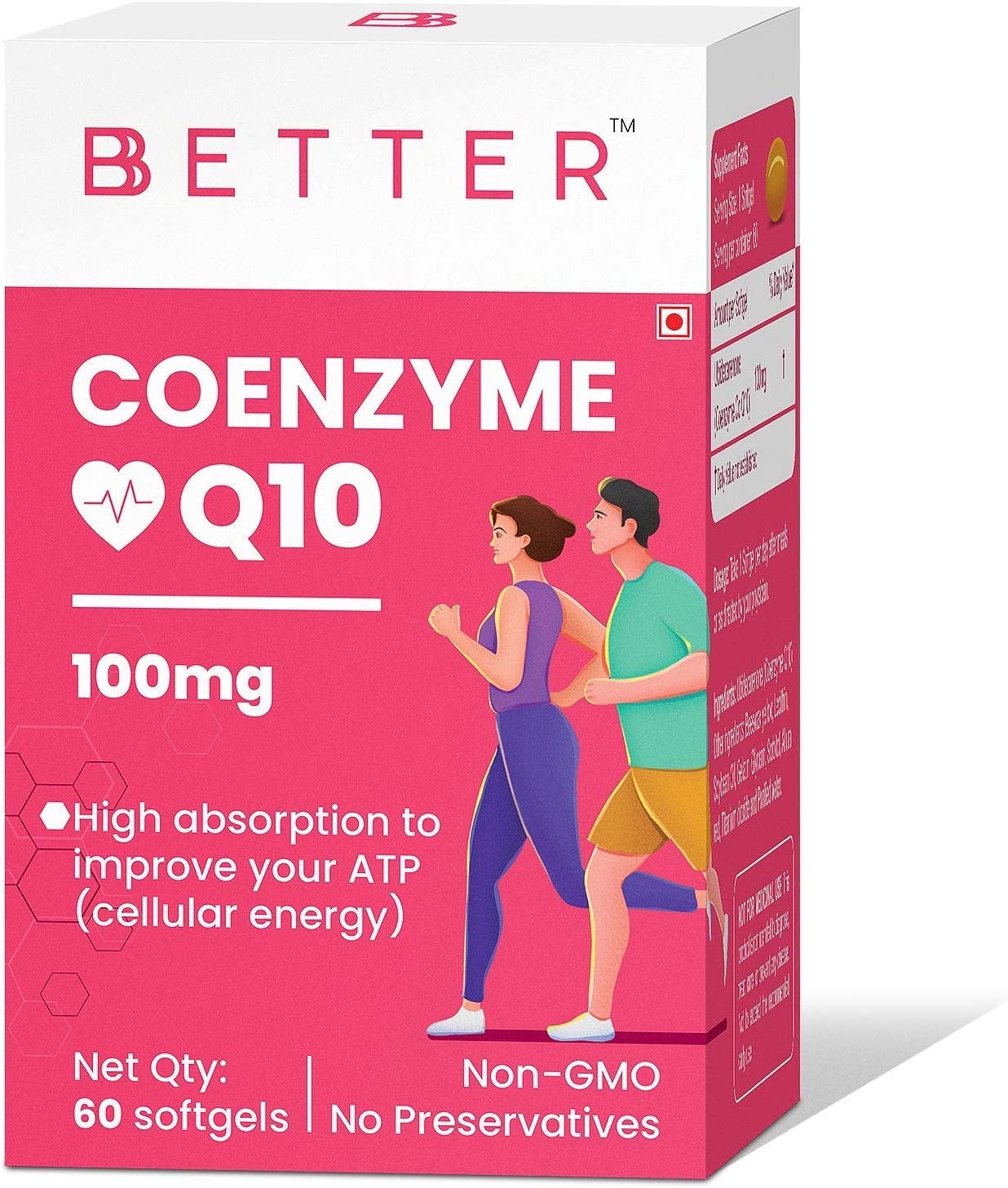 Large discharge sale Madow Coenzyme Q10 100mg Supplement high Impr Absorption to Under blast sales with