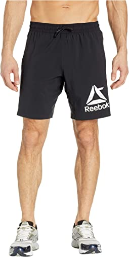 Workout Ready Woven Graphic Shorts