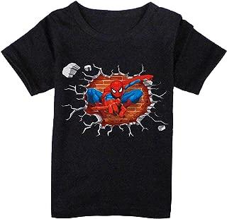 FMstyles - Spiderman 3d Break Through Kids Tshirt- FMS243