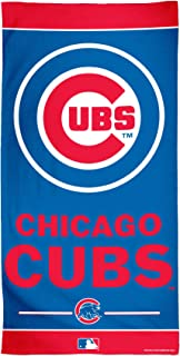 WinCraft MLB Chicago Cubs Fiber Beach Towel, 30 x 60, Multicolor