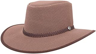 Cabana by American Hat Makers Mesh Leather Hat