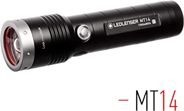 Ledlenser - MT14 Rechargeable Handheld Flashlight, High Power LED, 1000 Lumens, Outdoor Series, Backpacking, Hiking, Camping