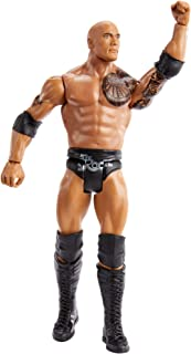 WWE Top Picks The Rock Action Figure 6 in Posable Collectible and Gift for Ages 6 Years Old and Up