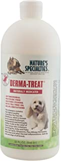Nature's Specialties Derma Treat Anti-Itch Dog Shampoo for Pets, Tea Tree Oil Skin Relief, Dilutes 6:1 Made in USA Non-Tox...