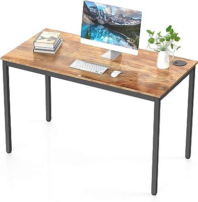 Amazon Brand – Umi Bureau d'ordinateur Bureau Informatique Petit Bois Moderne Simple Table Travail D'étude Bureau pour La Maison et Le 120cm