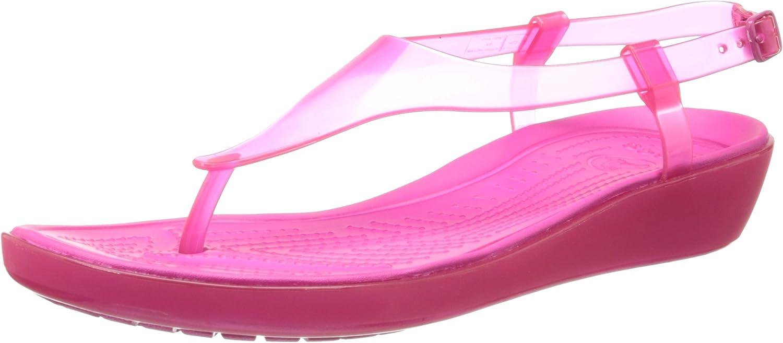 Crocs Women's Really Sexi T-Strap Sandal