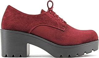 6fead568 Modelisa - Zapato Blucher Tacón Ancho Mujer
