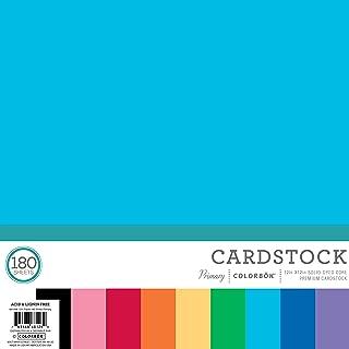 Colorbok 68126B Mega Paper Pad Mega Paper Pack, Primary, 12