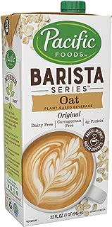Pacific Foods Oat Milk Barista Series — Non-Dairy Beverage, 32 oz (12 Pack)