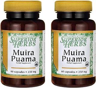 Swanson Muira Puama (10:1) 250 Milligrams 60 Capsules (2 Pack)
