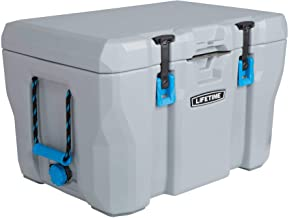 Lifetime 55 Quart High Performance Cooler, Grey, (55-Quart - Pack of 2)