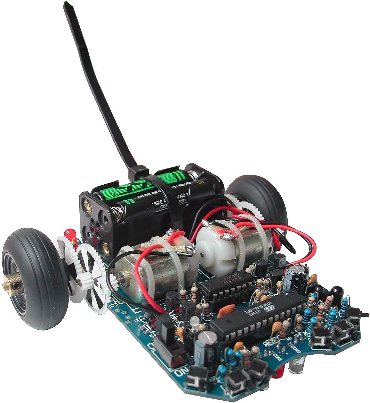 hasta 60% de descuento AREXX-DLR ARX-03 ARX-03 ARX-03 ASURO Robot Kit, Azul, no  servicio considerado