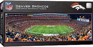 MasterPieces NFL Denver Broncos Stadium Panoramic Jigsaw Puzzle, 1000 Pieces
