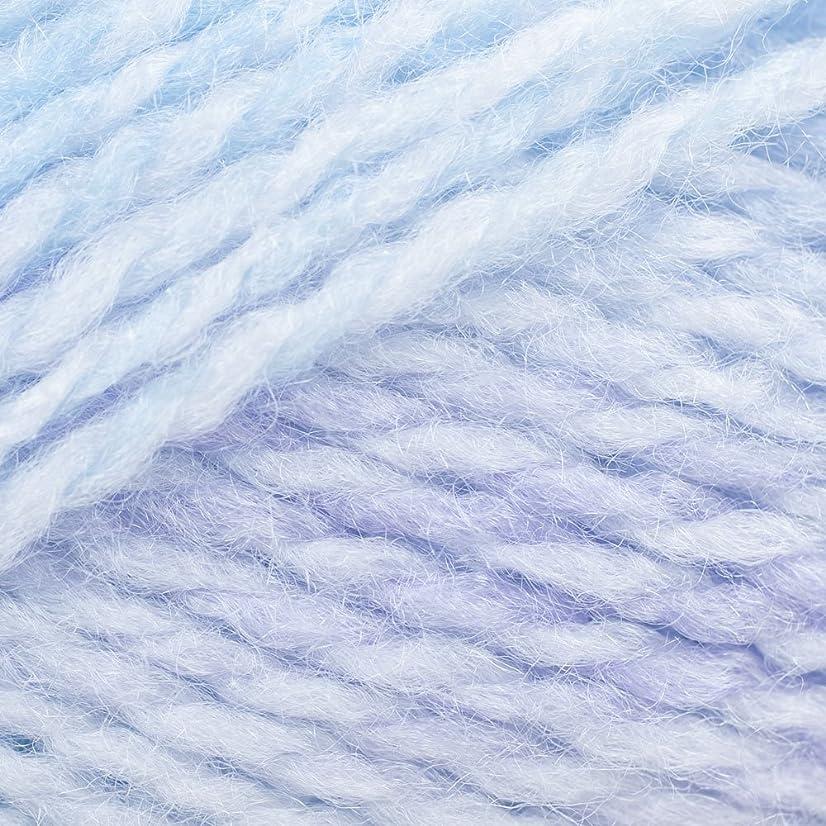 James C. Brett BM3 Baby Marble DK Yarn-Blue Breeze
