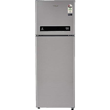 Whirlpool 265 L 2 Star Frost-Free Double Door Refrigerator (NEOFRESH DF 278 PRM 2S, German Steel)