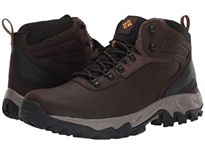 Columbia Newton Ridgetm Plus II Waterproof (Cordovan/Squash) Men