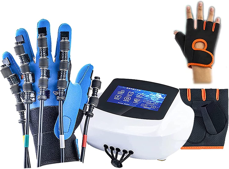 ZZBB Equipo de Entrenamiento de Dedo Rehabilitación Robot Guante de Robot, Equipo de Entrenamiento de Dedos Ortopédicos de Rehabilitación