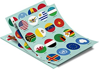 Best world country stickers Reviews