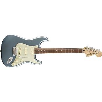 Fender 0147300362 Guitarra eléctrica para diapasón Stratocaster de lujo de palisandro, azul hielo místico: Amazon.es: Instrumentos musicales